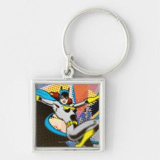 Batgirl Mid-Air Keychain