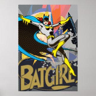 Batgirl Mid Air Impresiones