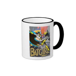 Batgirl Mid Air Taza De Dos Colores