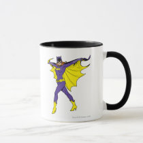 vintage, retro, batgirl, batman, bat man, 1966 batman, 60's batman, batman action callout, action words, fighting sound effect words, punching sounds, lee meriwether, adam west, burt ward, batman tv show, batman cartoon graphics, super hero, classic tv show, Mug with custom graphic design