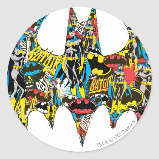 Batgirl - Murderous Classic Round Sticker