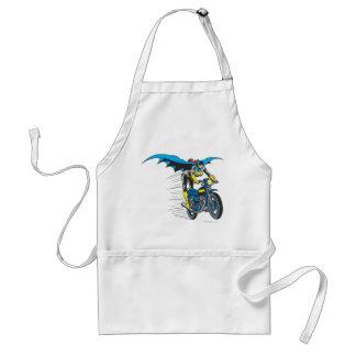 Batgirl on Batcycle Adult Apron
