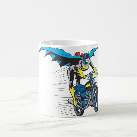 Batgirl on Batcycle Coffee Mug