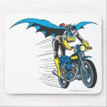 "Batgirl on Batcycle Mouse Pad<br><div class=""desc"">DC Originals - DC Comics</div>"