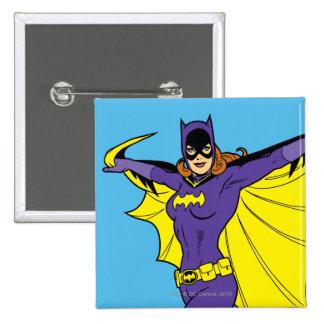 Batgirl Pin Cuadrado