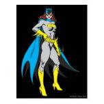 Batgirl Poses Post Card