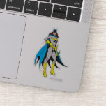 Batgirl Poses Sticker