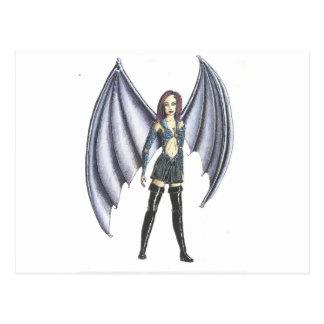 BatGirl Postcard