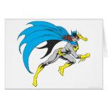 Batgirl Runs Greeting Card