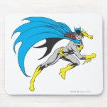 Batgirl Runs Mouse Pad