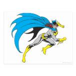 Batgirl Runs Post Card