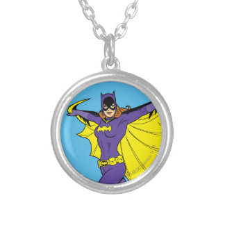 Batgirl Silver Plated Necklace