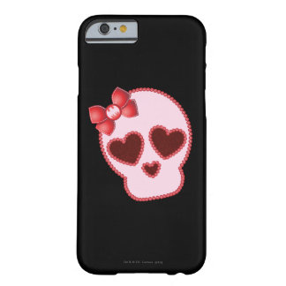 Batgirl Skull With Bow Barely There iPhone 6 Case