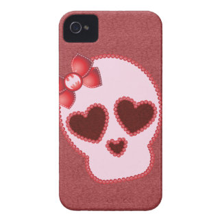Batgirl Skull With Bow Case-Mate iPhone 4 Case