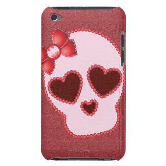 Batgirl Skull With Bow iPod Touch Case-Mate Case