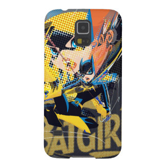 Batgirl Swinging Kick Cases For Galaxy S5