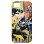 Batgirl Swinging Kick iPhone 5 Cases