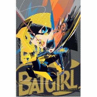 Batgirl Swinging Kick Photo Sculpture