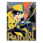 Batgirl Swinging Kick Postcard