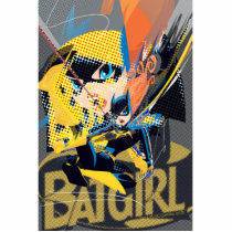 batgirl, monthly trend, gotham, comic book style, art, Photo Sculpture with custom graphic design