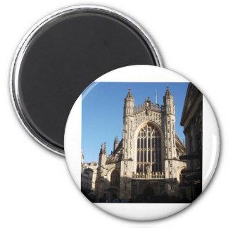 Bath Abbey 2 Inch Round Magnet