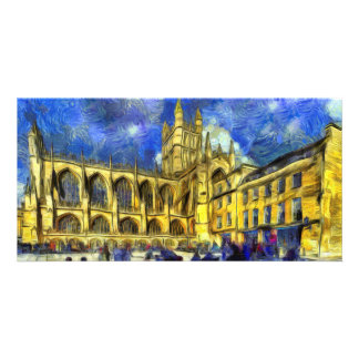 Bath Abbey Art Card