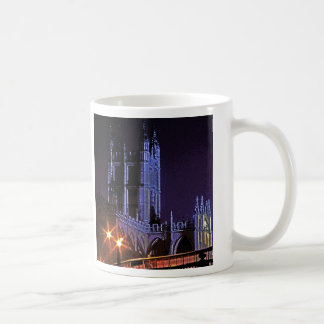 Bath Abbey at Night, Somerset, England, UK (2) Coffee Mug