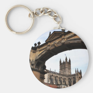 Bath Abbey Keychain