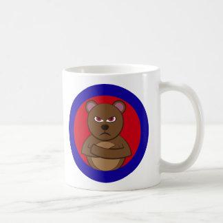Bath angry bear coffee mug