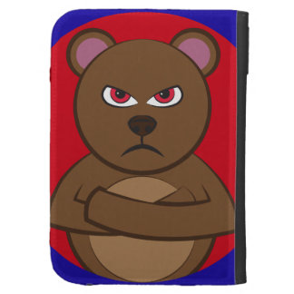 Bath angry bear kindle cover