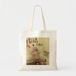 Bath Baby Tote Bag