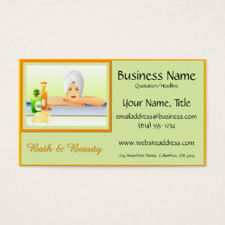 Bath & Beauty 1 Design 2 Business Cards
