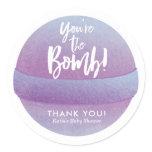 bath bomb, favor stickers, bath bomb stickers,