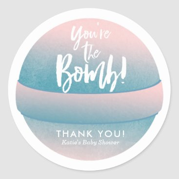 Professional Business Bath Bomb Stickers Shower Favor Stickers