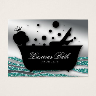 Bath Business Card Nail Salon Bubbles Pedicure