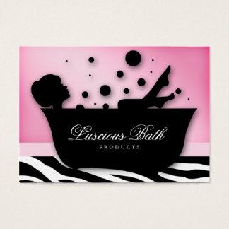 Bath Business Card Nail Salon Bubbles Pedicure
