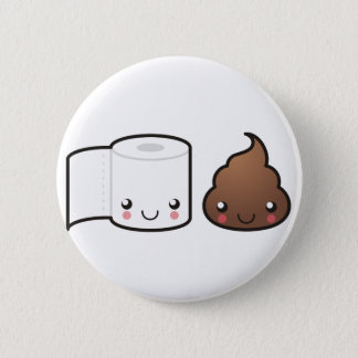 Bath Couple Buttom Pinback Button