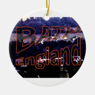 Bath England 1986 0001a1 jGibney The MUSEUM Christmas Ornament