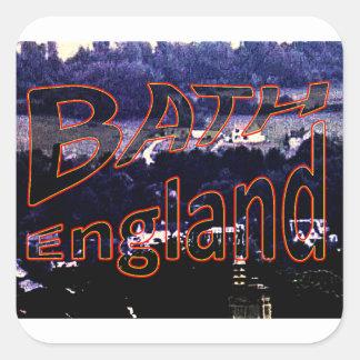 Bath England 1986 0001a1 jGibney The MUSEUM Square Sticker