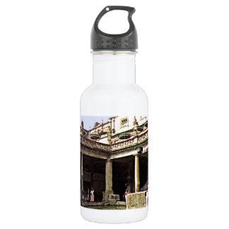 Bath England 1986 Roman Bath1c snap-17814b jGibney Water Bottle