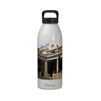Bath England 1986 Roman Bath1c snap-17814b jGibney Reusable Water Bottle
