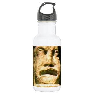 Bath England 1986 Roman Man Statue1 snap-17443 jGi Water Bottle