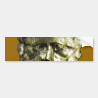 Bath England 1986 Roman Mask1 snap-14372 jGibney T Bumper Sticker