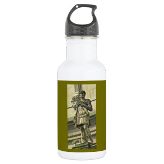 Bath England 1986 Roman Solider Statue1 snap-17612 Stainless Steel Water Bottle