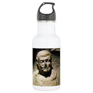 Bath England 1986 Roman Statue1a snap-17238 jGibne Water Bottle