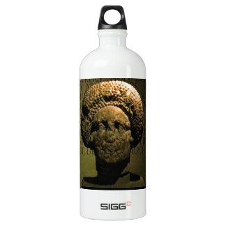 Bath England 1986 Roman Woman Statue1 snap-17383 j Water Bottle