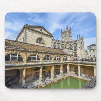 Bath England - Roman Baths Mouse Pad