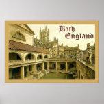 Bath ~ England ~ Vintage Travel Poster