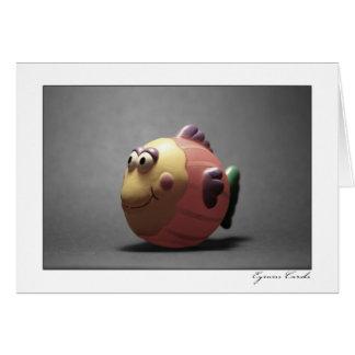 Bath Fish Card