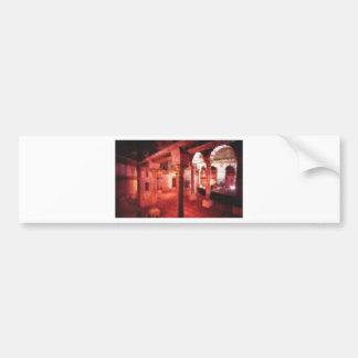 bath house bumper sticker